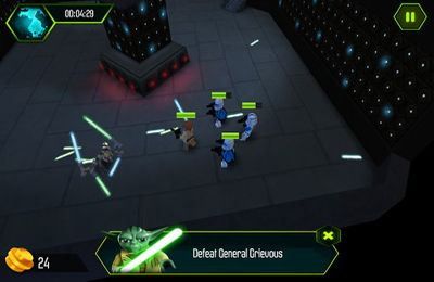 Screenshots do jogo LEGO Star Wars The YODA Chronicles para iPhone, iPad ou iPod.