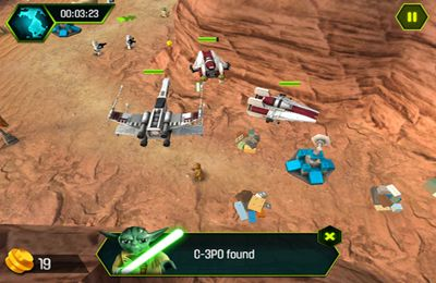 Écrans du jeu LEGO Star Wars The YODA Chronicles pour iPhone, iPad ou iPod.