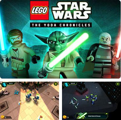 Además del juego Gallinas invasoras 3: Venganza - Edición de Navidad  para iPhone, iPad o iPod, también puedes descargarte gratis LEGO Star Wars The YODA Chronicles.