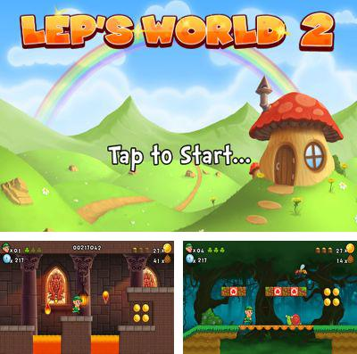 In addition to the game Bridge The Gap for iPhone, iPad or iPod, you can also download Lep's World 2 Plus for free.