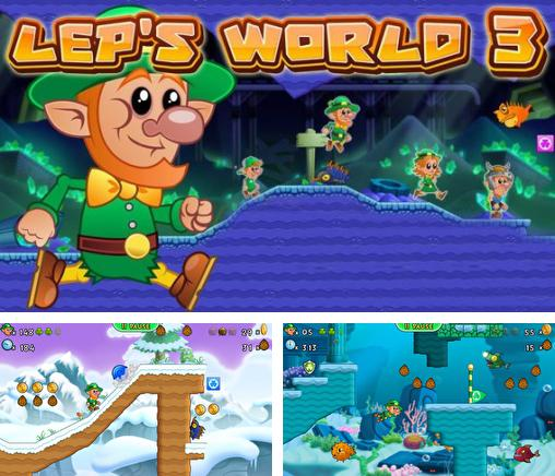 In addition to the game Mars miner universal for iPhone, iPad or iPod, you can also download Lep's World 3 for free.