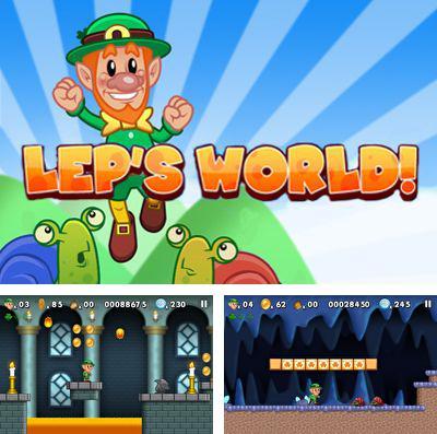 In addition to the game Zombie Street for iPhone, iPad or iPod, you can also download Lep's World Plus for free.