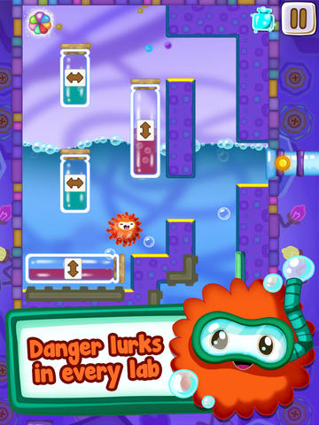 Screenshots of the Let Me Loose game for iPhone, iPad or iPod.