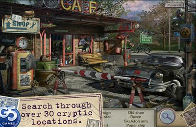 Capturas de pantalla del juego Letters from Nowhere 2 para iPhone, iPad o iPod.