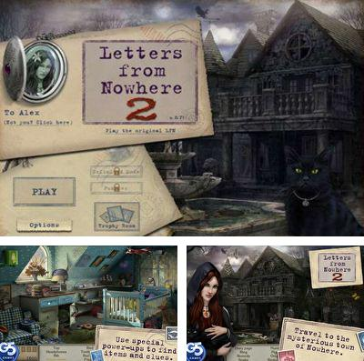 In addition to the game Enigmo 2 for iPhone, iPad or iPod, you can also download Letters from Nowhere 2 for free.