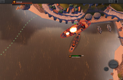 Screenshots of the Leviathan: Warships game for iPhone, iPad or iPod.