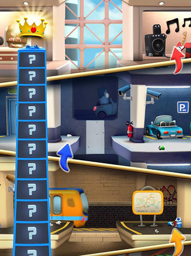 Screenshots do jogo Lifty! para iPhone, iPad ou iPod.