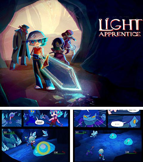 In addition to the game Garfield's Escape for iPhone, iPad or iPod, you can also download Light apprentice for free.