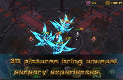 Screenshots of the Light Legend game for iPhone, iPad or iPod.
