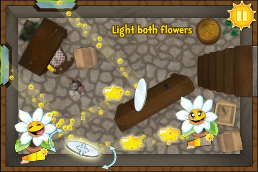 Screenshots vom Spiel Light The flower für iPhone, iPad oder iPod.