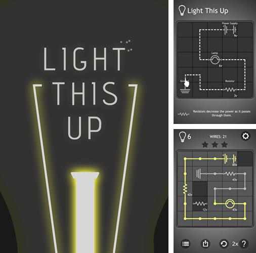 In addition to the game The Secret Of Space Octopuses for iPhone, iPad or iPod, you can also download Light this up for free.
