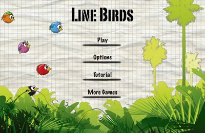 Download Line Birds iPhone free game.