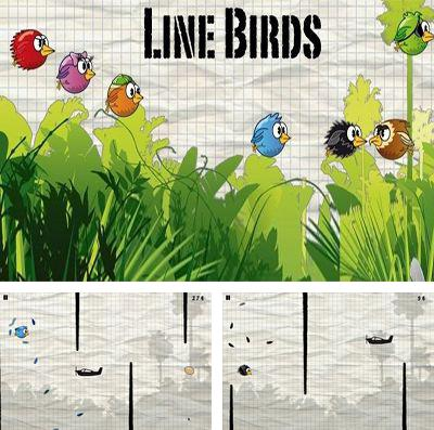 In addition to the game Genius Greedy Mouse for iPhone, iPad or iPod, you can also download Line Birds for free.