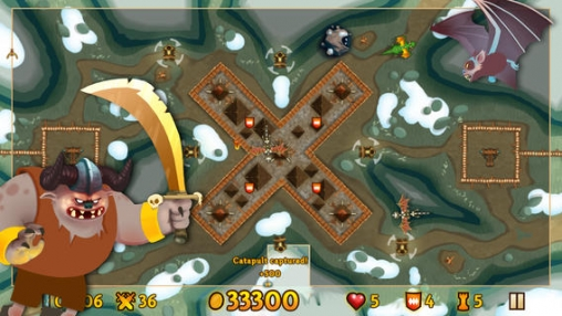 Screenshots of the Line knight Fortix game for iPhone, iPad or iPod.