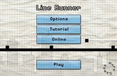 Capturas de pantalla del juego Line Runner para iPhone, iPad o iPod.