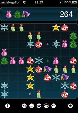 Screenshots of the Lines game for iPhone, iPad or iPod.