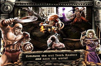 Capturas de pantalla del juego Lion-X Vs Tomb Raiders para iPhone, iPad o iPod.
