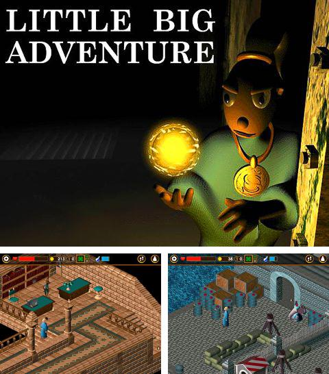 In addition to the game Daisy Mae's Alien Buffet for iPhone, iPad or iPod, you can also download Little big adventure for free.