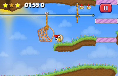 Écrans du jeu Little Bird Game pour iPhone, iPad ou iPod.