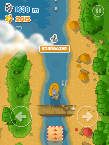 Descarga gratuita de Little Boat River Rush para iPhone, iPad y iPod.