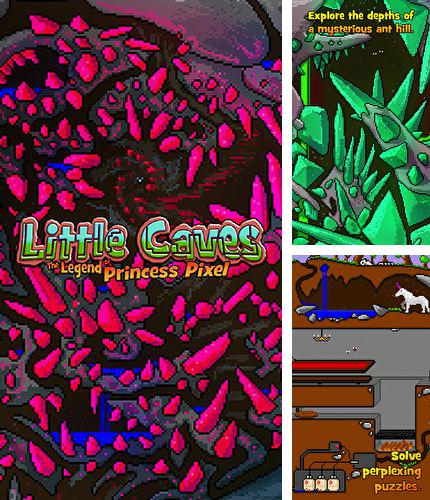In addition to the game Paradise cove for iPhone, iPad or iPod, you can also download Little caves: The Legend of princess Pixel for free.