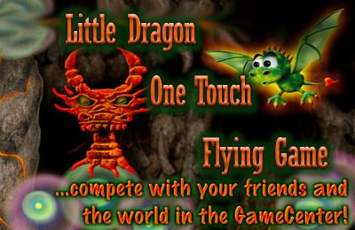 Little Dragon - One Touch Flying Game
