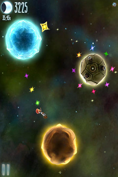 Screenshots of the Little Galaxy game for iPhone, iPad or iPod.