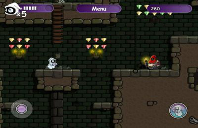 Screenshots vom Spiel Little Ghost für iPhone, iPad oder iPod.
