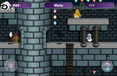 Écrans du jeu Little Ghost pour iPhone, iPad ou iPod.