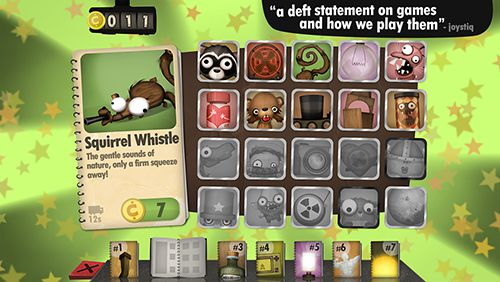 Screenshots vom Spiel Little inferno für iPhone, iPad oder iPod.