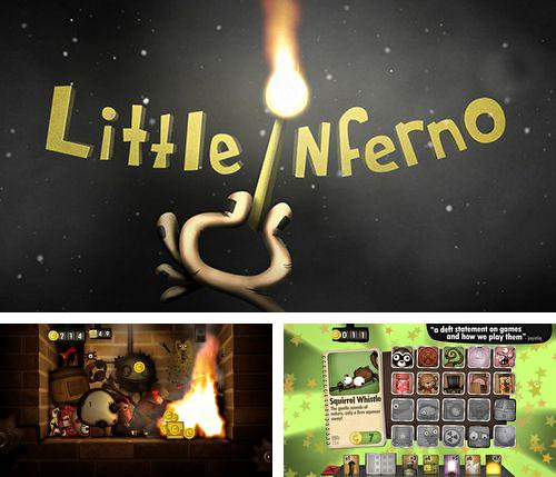 除了 iPhone、iPad 或 iPod 游戏,您还可以免费下载Little inferno, 。