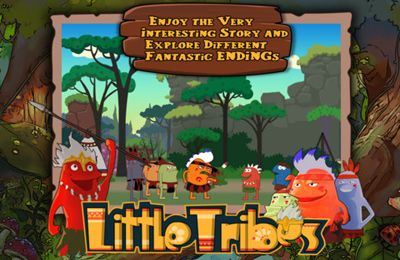 Free Little Tribes download for iPhone, iPad and iPod.