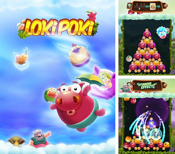 In addition to the game Chop Chop Tennis for iPhone, iPad or iPod, you can also download Lokipoki for free.