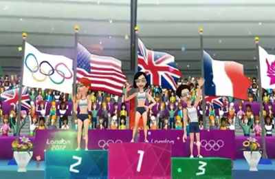 Capturas de pantalla del juego London 2012 - Official Mobile Game para iPhone, iPad o iPod.