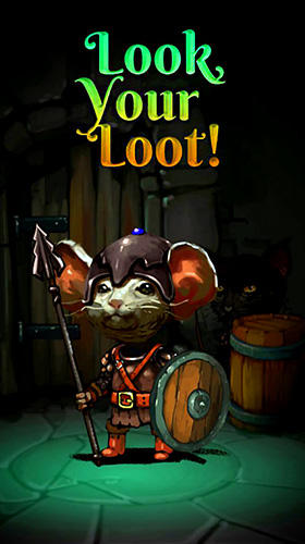 Look, your loot!