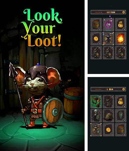 In addition to the game Creatures & Castles for iPhone, iPad or iPod, you can also download Look, your loot! for free.