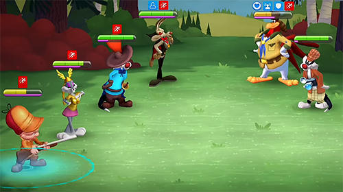 Téléchargement gratuit de Looney tunes: World of mayhem pour iPhone, iPad et iPod.