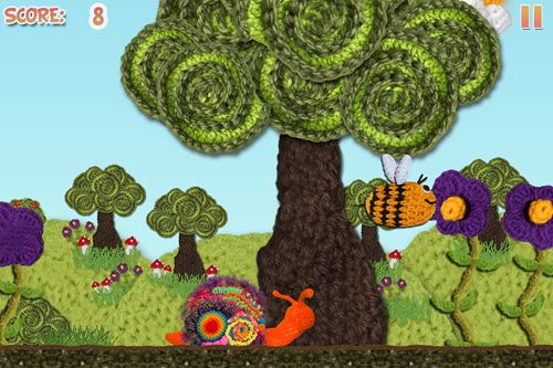 Screenshots of the Loopy lost his lettuce game for iPhone, iPad or iPod.