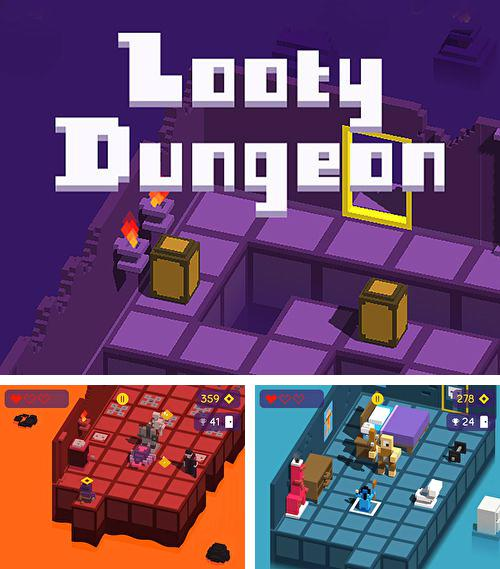 In addition to the game Jump Jack for iPhone, iPad or iPod, you can also download Looty dungeon for free.
