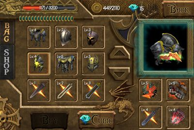 Screenshots vom Spiel Lord of Darkness für iPhone, iPad oder iPod.