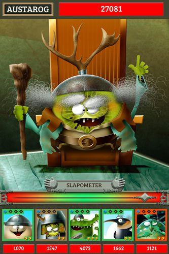 Écrans du jeu Lord of the dumbs pour iPhone, iPad ou iPod.