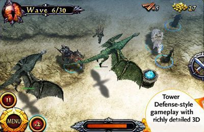 Kostenloser Download von Lord of the Rings Middle-Earth Defense für iPhone, iPad und iPod.