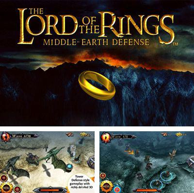 Además del juego Predominio para iPhone, iPad o iPod, también puedes descargarte gratis Lord of the Rings Middle-Earth Defense.