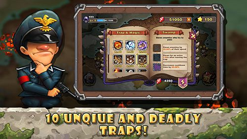 Écrans du jeu Lord of trap pour iPhone, iPad ou iPod.