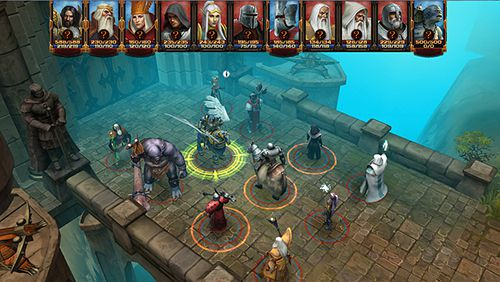 Screenshots of the Lords of discord game for iPhone, iPad or iPod.