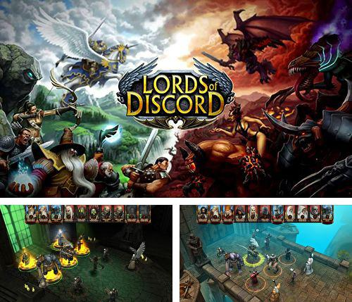 In addition to the game Idle industry world for iPhone, iPad or iPod, you can also download Lords of discord for free.