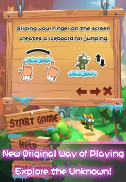 Download Lost Jump Deluxe iPhone free game.