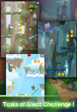 Free Lost Jump Deluxe download for iPhone, iPad and iPod.