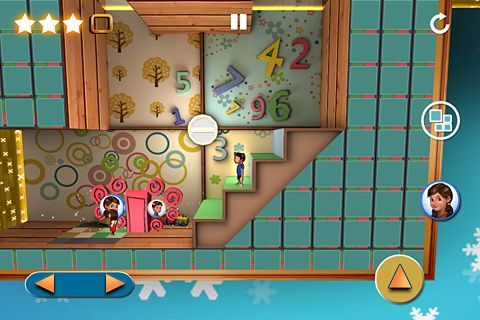 Capturas de pantalla del juego Lost twins para iPhone, iPad o iPod.