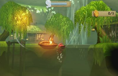 Écrans du jeu LostWinds 2: Winter of the Melodias pour iPhone, iPad ou iPod.